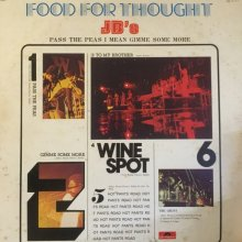 【USED / 中古】 JB's - Food For Thought (ワイン・スポット)   [LP][ Vinyl: EX- / Jacket : VG ]