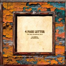 [2019年3月下旬] 4 PAGE LETTER / DJ KENTA(ZZ PRODUCTION)
