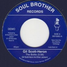 [2019年4月上旬] GIL SCOTT HERON - The Bottle / Johannesburg [7inch]<img class='new_mark_img2' src='//img.shop-pro.jp/img/new/icons14.gif' style='border:none;display:inline;margin:0px;padding:0px;width:auto;' />