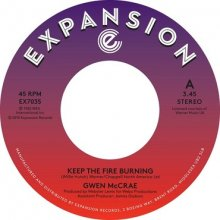 [2019年4月上旬] GWEN McCRAE - Funky Sensation / Keep The Fire Burning [7inch]<img class='new_mark_img2' src='//img.shop-pro.jp/img/new/icons14.gif' style='border:none;display:inline;margin:0px;padding:0px;width:auto;' />