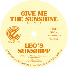 [2019年4月下旬] Leo's Sunshipp - Give Me The Sunshine/ I'm Back For More [12inch]<img class='new_mark_img2' src='//img.shop-pro.jp/img/new/icons14.gif' style='border:none;display:inline;margin:0px;padding:0px;width:auto;' />