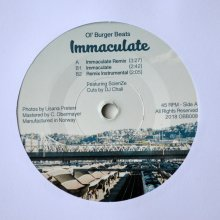 [2019年5月上旬]  Ol' Burger Beats -  Immaculate Remix  [7inch]<img class='new_mark_img2' src='//img.shop-pro.jp/img/new/icons14.gif' style='border:none;display:inline;margin:0px;padding:0px;width:auto;' />