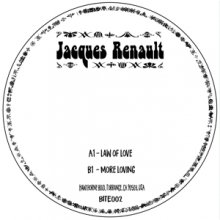 [2019年7月下旬] JACQUES RENAULT - LAW OF LOVE/MORE LOVE [7inch]
