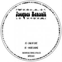 [2019年7月下旬] JACQUES RENAULT - LAW OF LOVE/MORE LOVE [7inch]