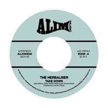 [2019年6月下旬] THE HERBALISER - TAKE DOWN / SOME THINGS FEAT. RODNEY P & TIECE [7inch]<img class='new_mark_img2' src='//img.shop-pro.jp/img/new/icons14.gif' style='border:none;display:inline;margin:0px;padding:0px;width:auto;' />