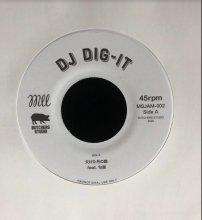 (7インチ)【DJ DIG-IT + DJ KEN5】欠けた月の晩 feat. 句潤 / 湾岸の麒麟 feat. I.S.O.P.