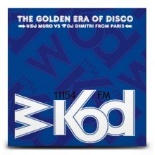 DJ Muro & Dimitri from Paris / WKOD 11154 FM The Golden Era of Disco (2CDs)