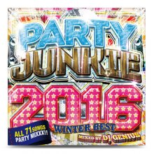 【会員登録すると500円】DJ GENIUS / PARTY JUNKIE 2016 -WINTER BEST-【MIXCD】