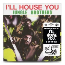 【HIPHOP】JUNGLE BROTHERS / I'LL HOUSE YOU / ON THE RUN【7inch】