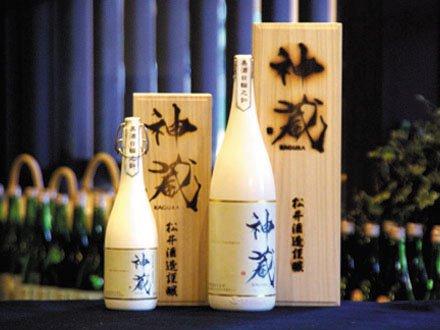 松井酒造『神蔵 KAGURA 純米大吟醸 無濾過 生原酒(白)』