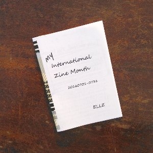 『My International Zine month 20160701-0731』