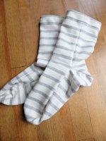 【型紙】天竺の端切れで作る靴下