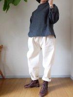 【貼合せ型紙】布帛テパードパンツ