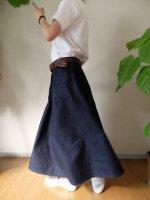 【貼合せ型紙】ロングスカート
