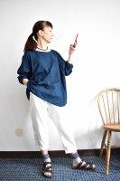 【貼合せ型紙】女子布帛テパードパンツ(復刻版)