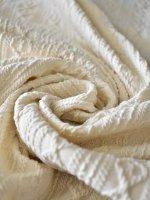 縄編みシャーリングジャガードミニ