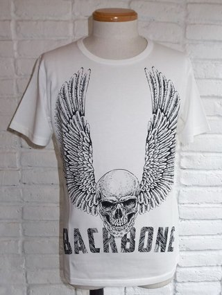 【BACKBONE/バックボーン】COTTON PRINT T-SHIRT