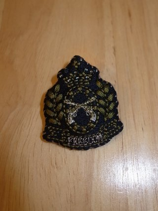 "【roar/ロアー】""PISTOL CROWN"" EMBROIDERY BADGE"