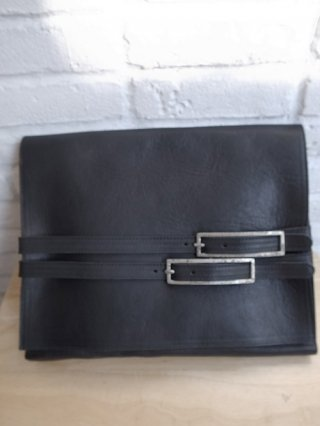 【incarnation/インカネーション】CALF LEATHER DOCUMENT/PC CASE #2 (BLACK)