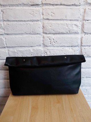 【DIET BUTCHER SLIM SKIN】Leather Clutch Bag (BLACK)