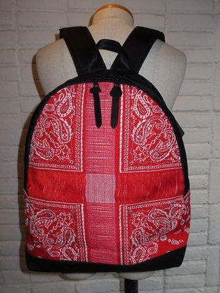 【yoshikubo/ヨシオクボ】BANDANA DAY BAG (RED)