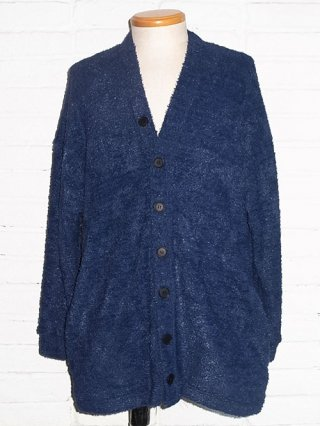 <img class='new_mark_img1' src='//img.shop-pro.jp/img/new/icons8.gif' style='border:none;display:inline;margin:0px;padding:0px;width:auto;' />【DIET BUTCHER SLIM SKIN】Shaggy cardigan (NAVY)