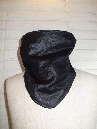 【roar/ロアー】FAKE CALF CLOTH/Polartec® MICRO VELOUR NACK WARMER (BLACK)