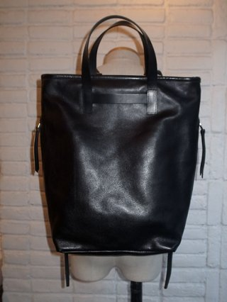 【rewords/rewordsdesign】Leather 2Way Backpack TR1 (BLACK)