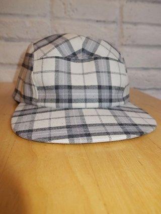 【Iroquois/イロコイ】T/R TARTAN CHECK CAP (WHT)