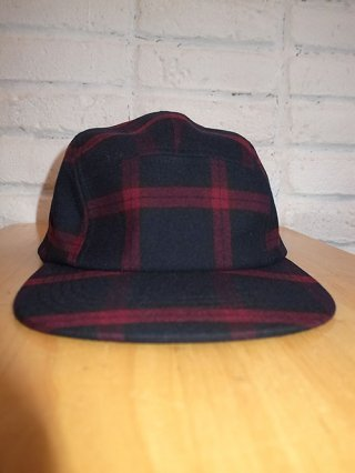 【Iroquois/イロコイ】T/R TARTAN CHECK CAP (RED)