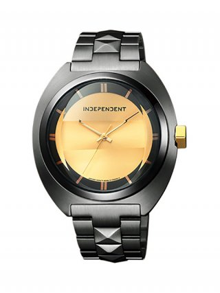 <img class='new_mark_img1' src='//img.shop-pro.jp/img/new/icons8.gif' style='border:none;display:inline;margin:0px;padding:0px;width:auto;' />【DRESSCAMP×INDEPENDENT】STUDS CLASSICO WATCH (BLACK×GOLD)