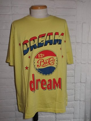 【Iroquois/イロコイ】DREAMS BABY DREAM BIG T-SHIRTS (YLW)