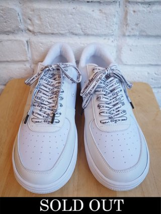 【yoshiokubo/ヨシオクボ】EVEREST CUT SNEAKER (WHITE)