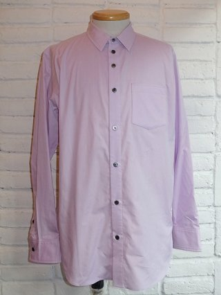 【DIET BUTCHER SLIM SKIN/ダイエットブッチャースリムスキン】dimension dress shirt (LILAC)