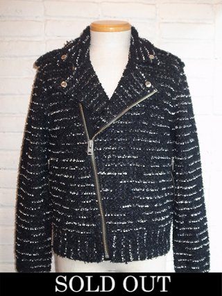 【COOHEM/コーヘン】RIDER'S TWEED BLOUSON (BLACK)