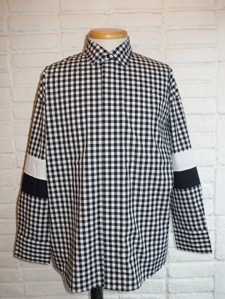 【SUPERTHANKS/スーパーサンクス】CHANGE BIC SHIRT (GINGHAM)