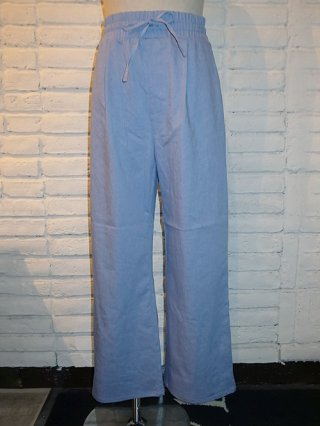【SUPERTHANKS/スーパーサンクス】WIDE PANTS (L.BLUE DENIM)