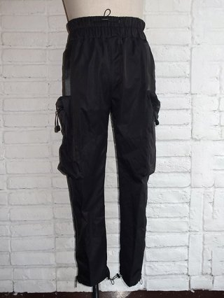 【SUPERTHANKS/スーパーサンクス】BODY BAG PANTS (BLACK)