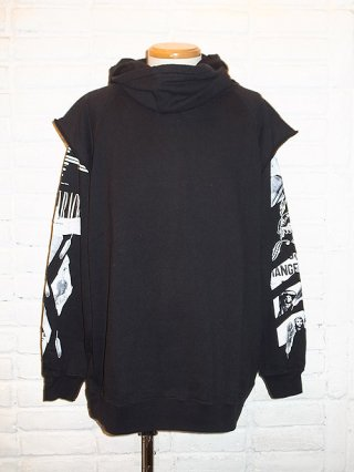 【Iroquois/イロコイ】MIXED RACE HOODIE (BLK)