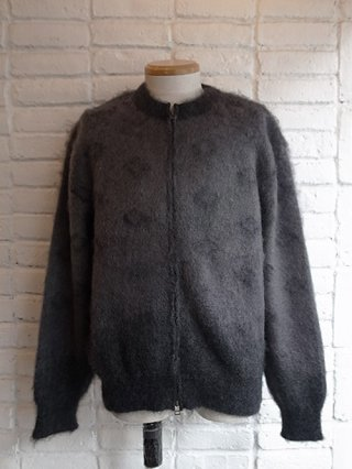 【tashiro/タシロ】KID MOHAIR KNIT CARDIGAN (SMOKE)