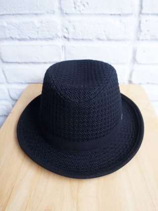 【roarguns/ロアーガンズ】PILLING RESISTANT FINISH WAFFLE HAT (BLACK)