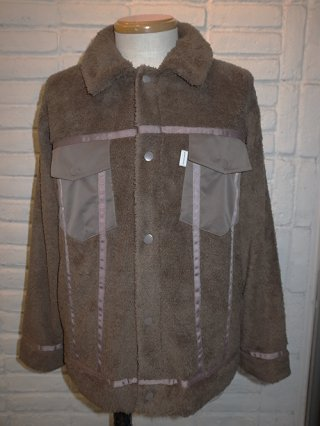 <img class='new_mark_img1' src='https://img.shop-pro.jp/img/new/icons8.gif' style='border:none;display:inline;margin:0px;padding:0px;width:auto;' />【SUPERTHANKS】DOUBLE-FACE FUR 3rd TYPE JACKET (MOCHA)