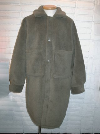 【SUPERTHANKS】BOA BIC SHIRT COAT (KHAKI)