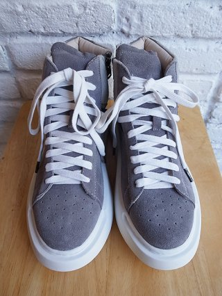 【DIET BUTCHER SLIM SKIN】hi-cut sneaker
