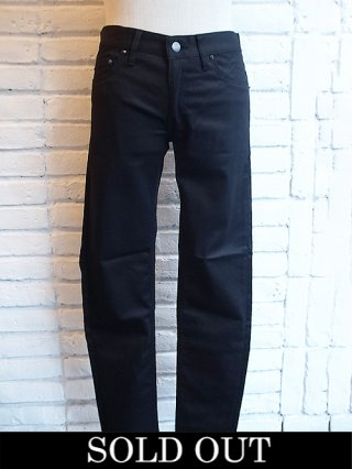 <img class='new_mark_img1' src='https://img.shop-pro.jp/img/new/icons8.gif' style='border:none;display:inline;margin:0px;padding:0px;width:auto;' />【DIET BUTCHER SLIM SKIN】Basic SKINNY Denim (TWILL BLACK)