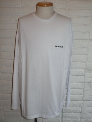 【GalaabenD/ガラアーベント】シルケット天竺 L/S Tシャツ (WHITE)