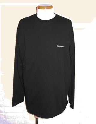 【GalaabenD/ガラアーベント】シルケット天竺 L/S Tシャツ (BLACK)