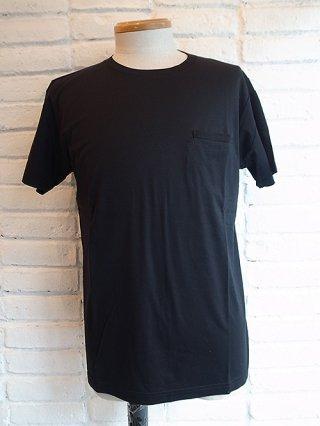 【STRUM/ストラム】ギザ リヨセル ハイゲージ天竺 Tシャツ (BLACK)