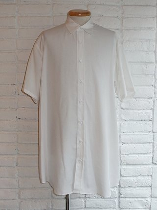 【Iroquois/イロコイ】SPUN LAWN SIDE VENTS SHIRT (WHT)