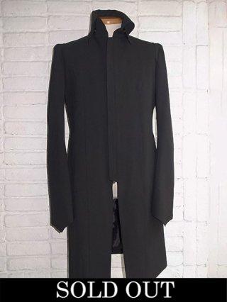 【kiryuyrik/キリュウキリュウ】Toropical Stand Collar Shoulder Jacket (BLACK)